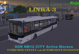 CZ/SK Lets Play – Omsi 2 (Kojetice) – SOR NB12 City