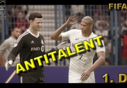 CZ/SK Lets Play | FIFA 18 | PART 1. | Antitalent na sport