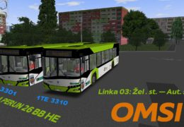 CZ/SK Lets Play | OMSI 2 | Kojetice | Linka 3 | Škoda Perun HE