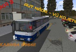 CZ/SK Let's Play | OMSI 2 | Kojetice | Linka 3 – Aut. nádr. – VÚ Kojetice | Karosa C954E