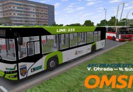 CZ/SK Lets Play | OMSI 2 | Praha | Linka 235 | Solaris U12 PL Mod