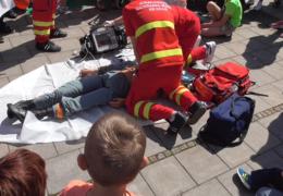 Záchranná služba | Dynamická ukázka | Den s IZS 2016 | Třinec