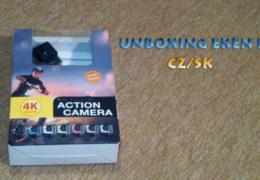 EKEN H9 4K CAMERA – Unboxing – CZ/SK