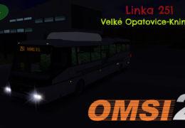 CZ/SK Lets Play | OMSI 2 | Velké Opatovice | Linka 251 | V. Opatovice — Knínice u B.