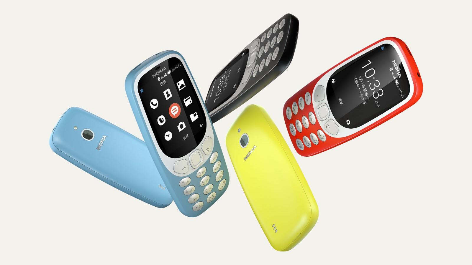"""Nokia 3310 znovu na scéně. Tentokrát se 4G LTE, Wi-Fi a """"čínským Androidem"""""""
