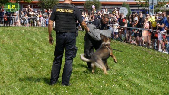 Den s IZS v Třinci 2018 – Policie ČR – Kynologie