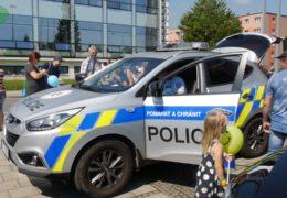Den s IZS v Třinci 2018 – Policie ČR – Prezentace činnosti