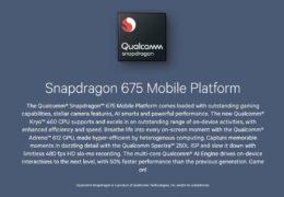 Qualcomm představil Snapdragon 675. Osmijádro pro střední s umělou inteligencí