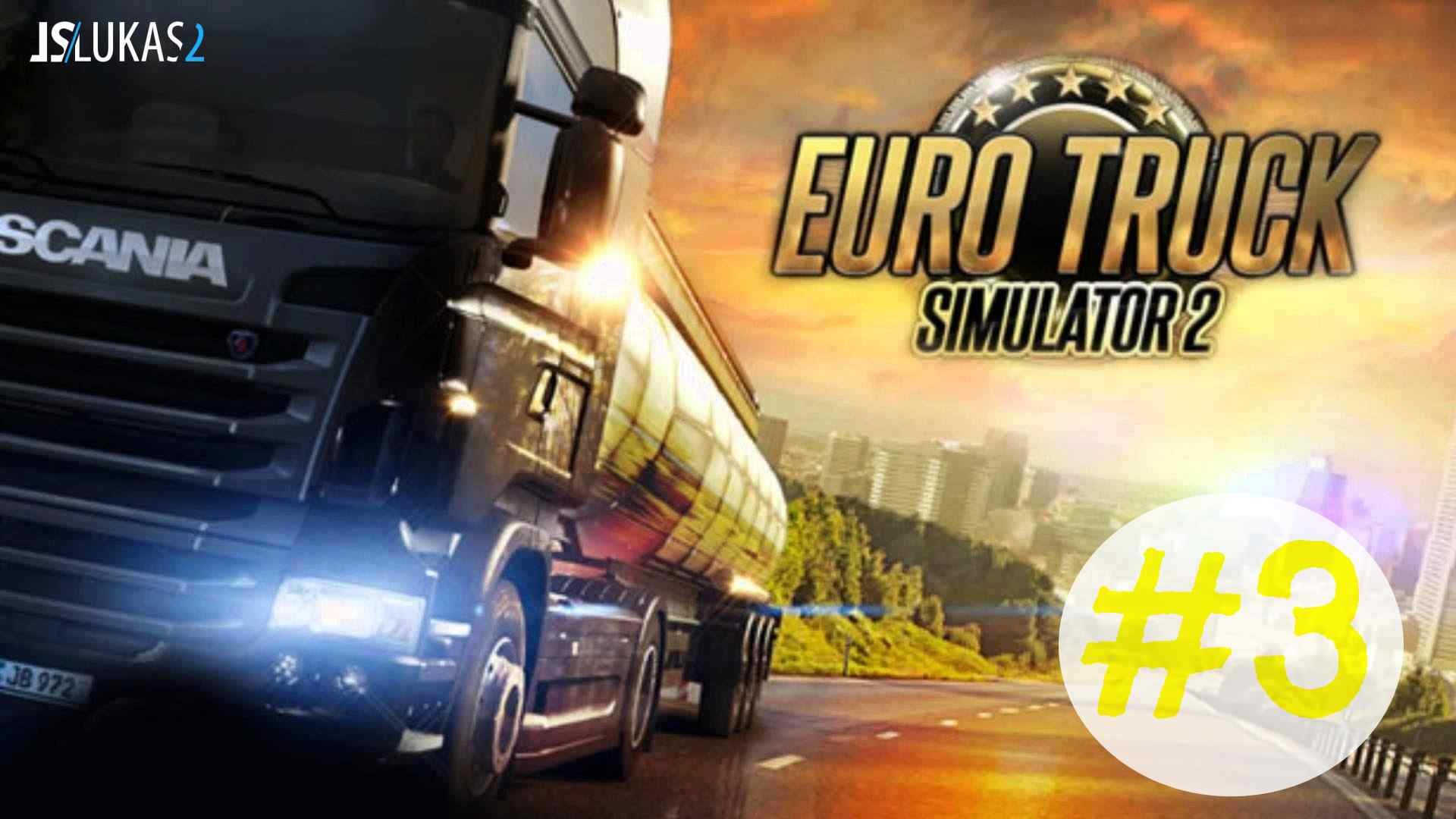 CZ/SK Let's Play | Euro Truck simulator 2 | 3. díl