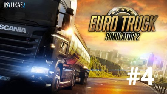 CZ/SK Let's Play | Euro Truck simulator 2 | 4. díl