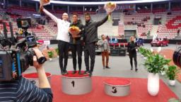 Beskydskou laťku 2020 vyhrál Brit Tom Gale. Jeho maximální výkon ve Werk areně byl 230 cm
