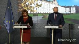TK po mimořádném jednání vlády – 16.10.2020
