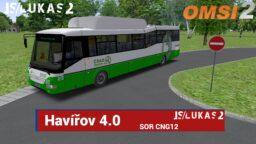 OMSI 2 – Havířov 4.0 – Sor CNG12 – Linka do Stonavy