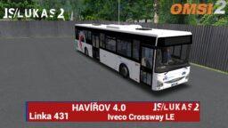 OMSI 2 – Havířov 4.0 – Iveco Crossway – Linka 431